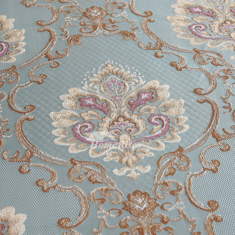 Vintage Tablecloths Round 70 Inch Polyester Blue For Sale Wholesale