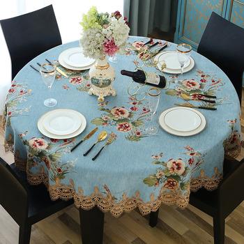 Linen Polyester Table Linens Modern