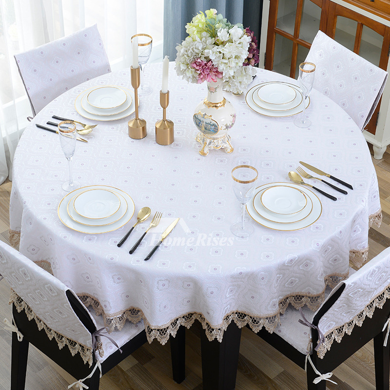 Awe Inspiring White Round Tablecloths Blue 70 Inch Wedding Polyester Wholesale Download Free Architecture Designs Scobabritishbridgeorg
