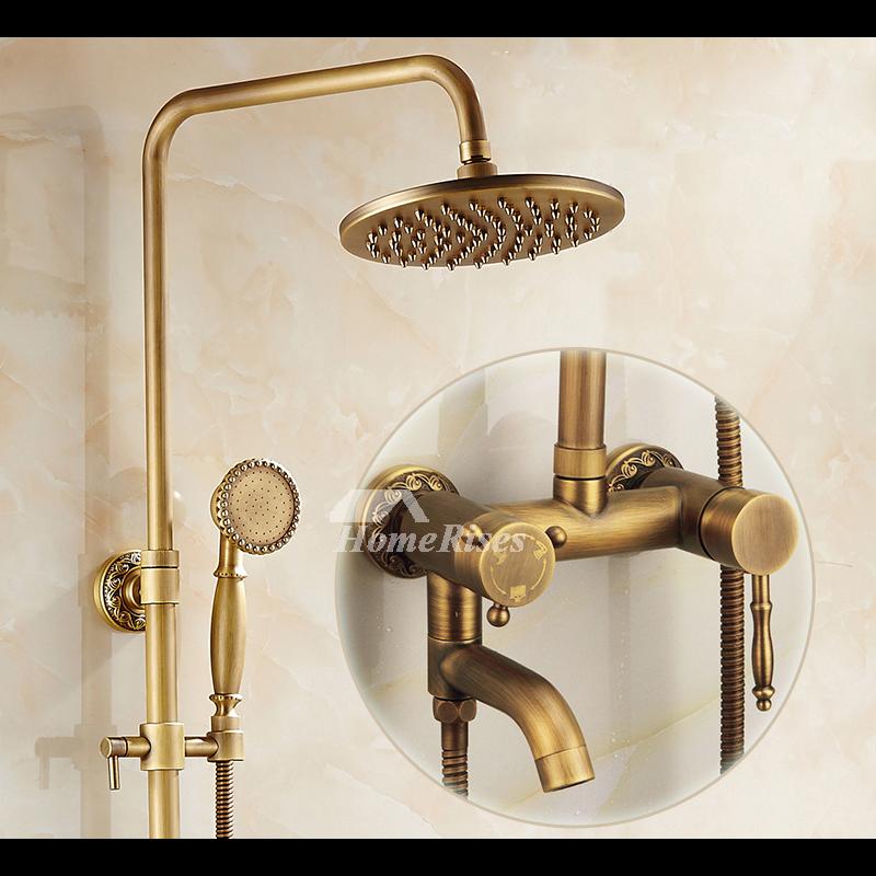 Antique Brushed Nickel Bathroom Faucet