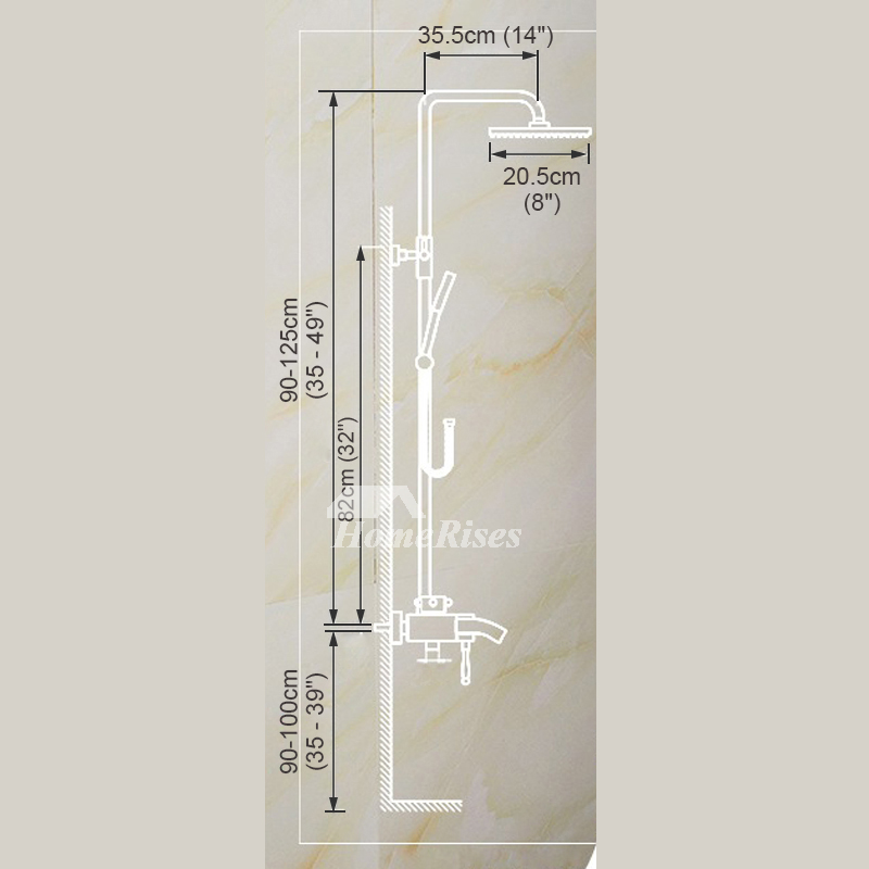 Antique Brass Bathroom Faucet Brushed Gold Single Handle