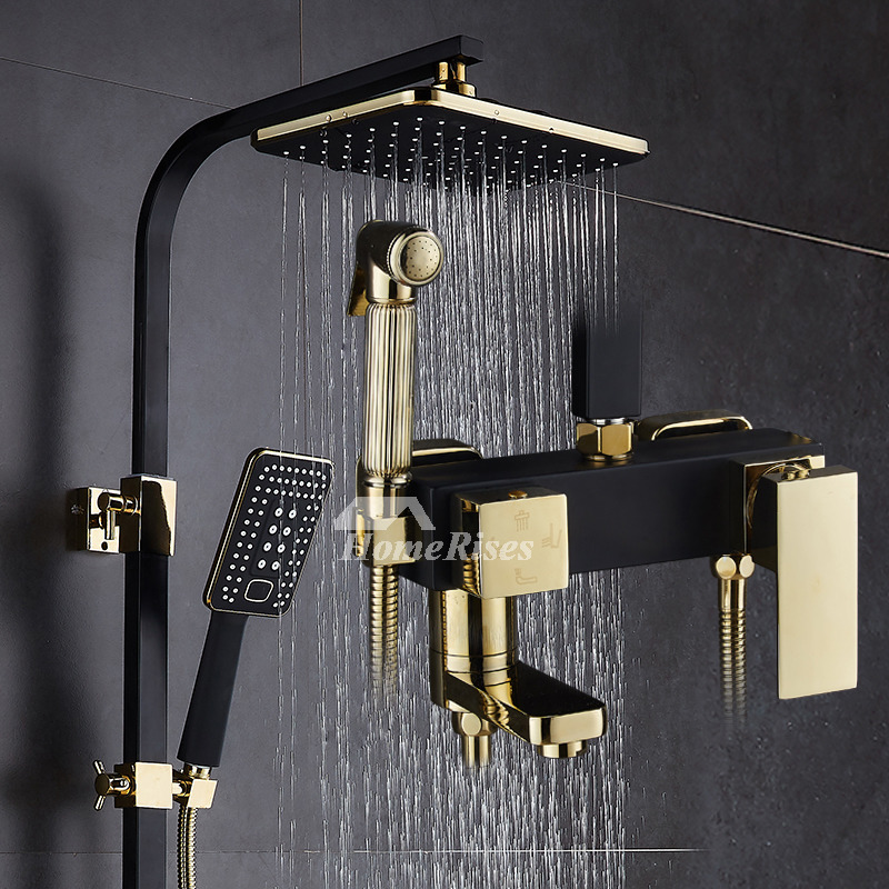 Outdoor Shower Fixtures White Sidespray Oil Rubbed Bronze