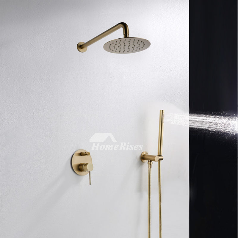 Conceal black shower faucet brushed oil rubbed bronze gold - Oil brushed bronze bathroom faucets ...