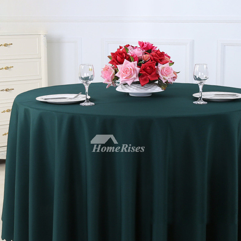 Outdoor Tablecloth Beige Purple Green 70 120 Inch Round Polyester