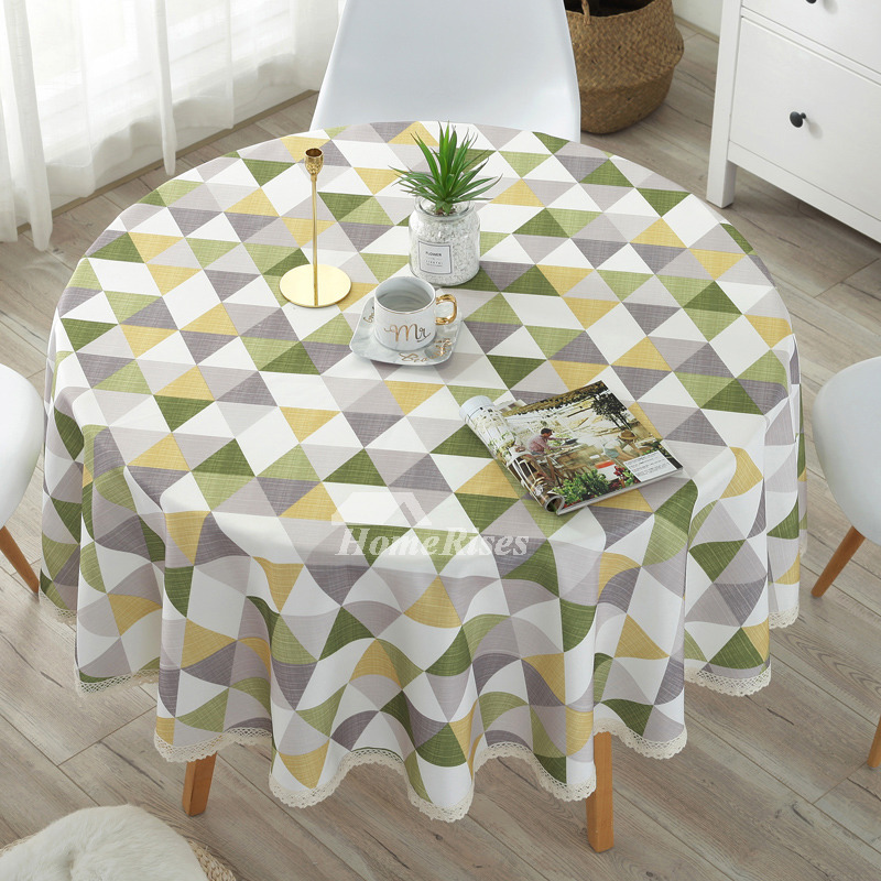 Peachy Modern Cotton Linen Cheap Tablecloths Round 70 Inch Beige Colorful Caraccident5 Cool Chair Designs And Ideas Caraccident5Info