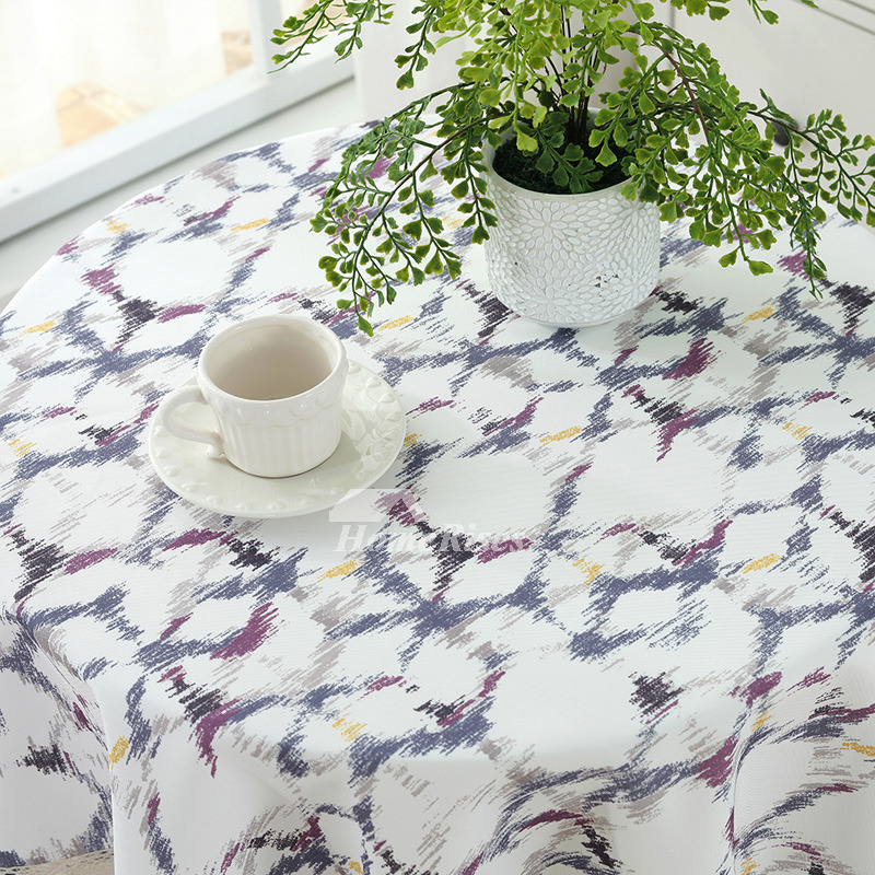 Round Tablecloths 70 Inch Cotton Linen Dining Room