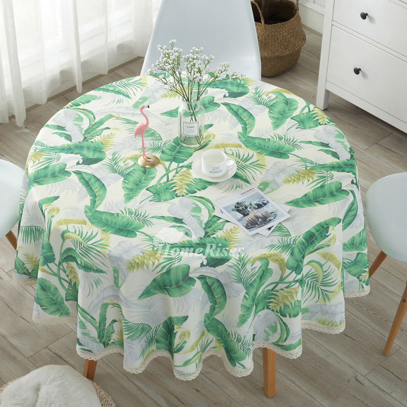 Cheap Tablecloths Round 70 Inch Cotton Linen Dining Room Tree