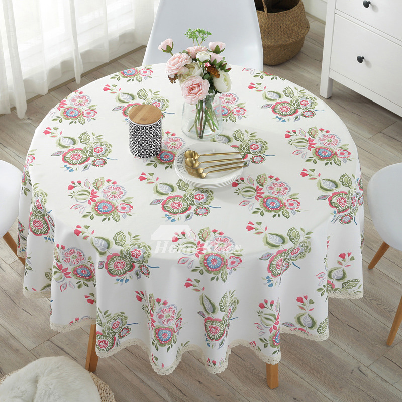 Dining Room Tablecloths: Cheap Tablecloths Round 70 Inch Cotton Linen Dining Room Tree