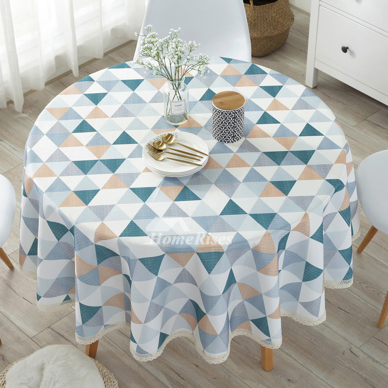 Pictures Show. Fabric Tablecloths Round Cotton Linen 70 ...