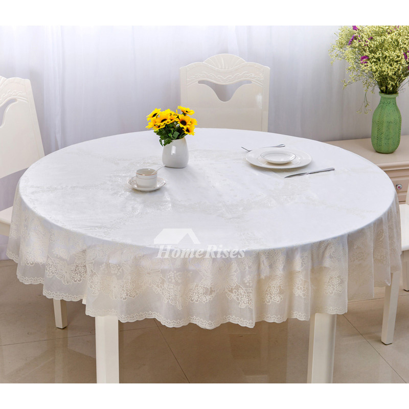 Superieur Pictures Show. White Tablecloth Round 70 ...