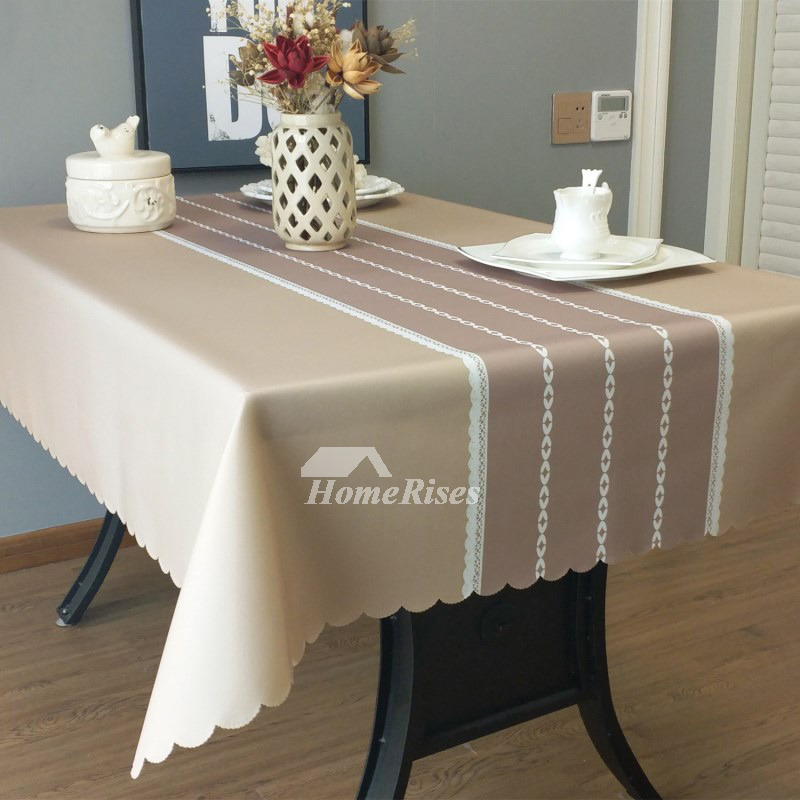Pictures Show Designer Oblong Tablecloth