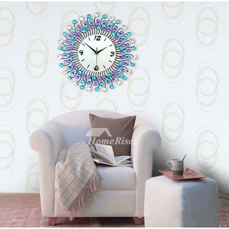 Modern Decorative 20 Inch White Black Blue Unique Large