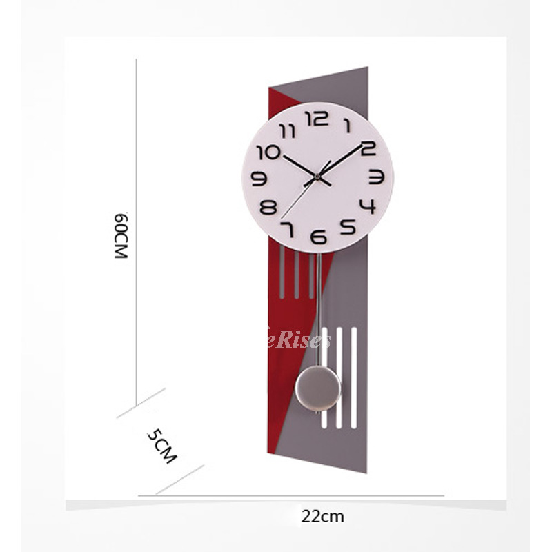 Modern Large Wall Clocks Unique Rectangle Living Room Best