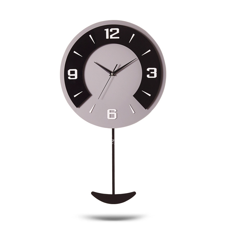 Pictures Show. Kitchen Modern Wall Clock Decorative Pendulum Black Coffee  ...