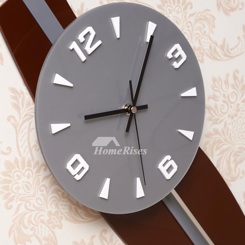 Large Pendulum Wall Clocks Decorative
