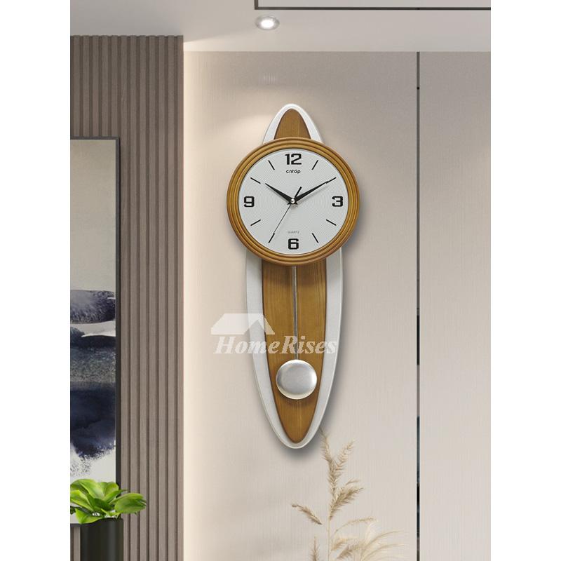 Oversized Wall Clock Modern Decorative Pendulum Silent
