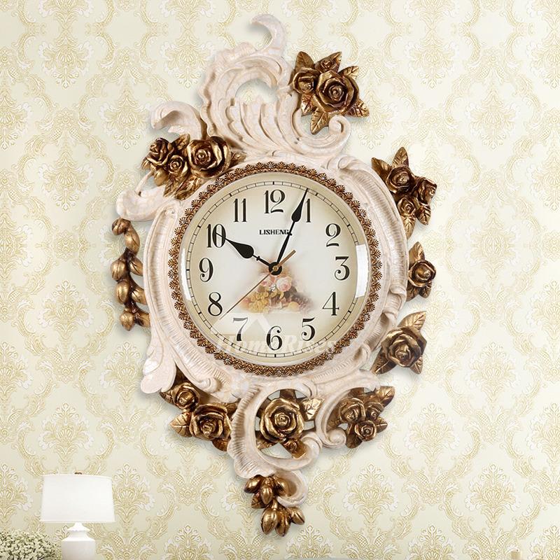 Beautiful Fl Wall Clocks Decorative