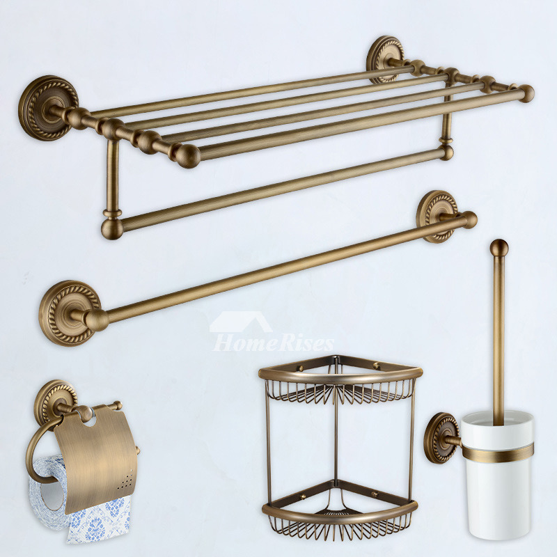 Antique Br Bathroom Accessories