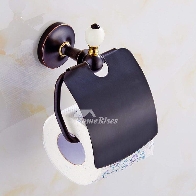 Oil Rubbed Bronze Bathroom Accessories Black Brass Marble Antique