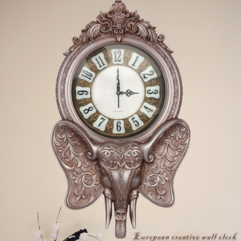 Silver Wall Clock Modern Silver Clock Large Silver Wall