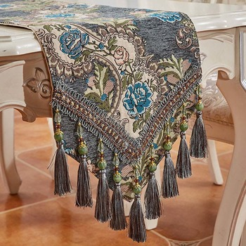 Luxury Tablecloth Table Runner Floral