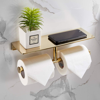 Gold Toilet Paper Holder