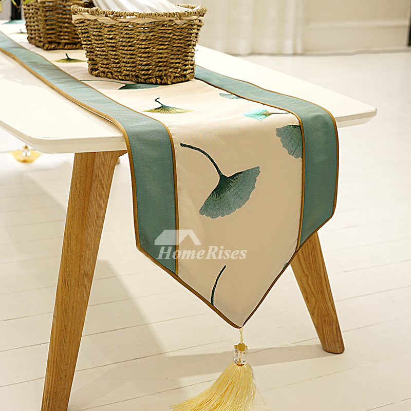 Stupendous Elegant Table Runners Modern 72 Inch Damask Dining Green Pabps2019 Chair Design Images Pabps2019Com