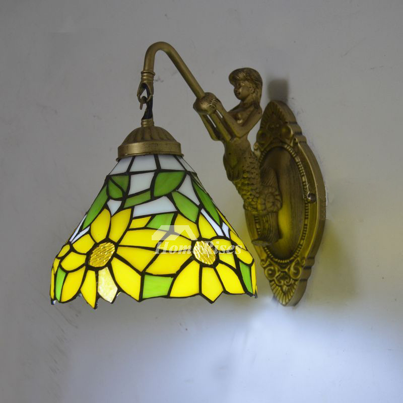 Small Wall Mounted Bedside Decorative Wall Sconces Art ...