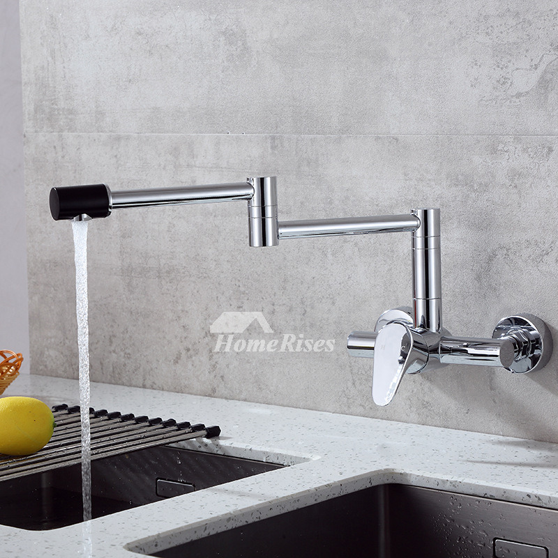 Modern Br Pot Filler Kitchen Faucet