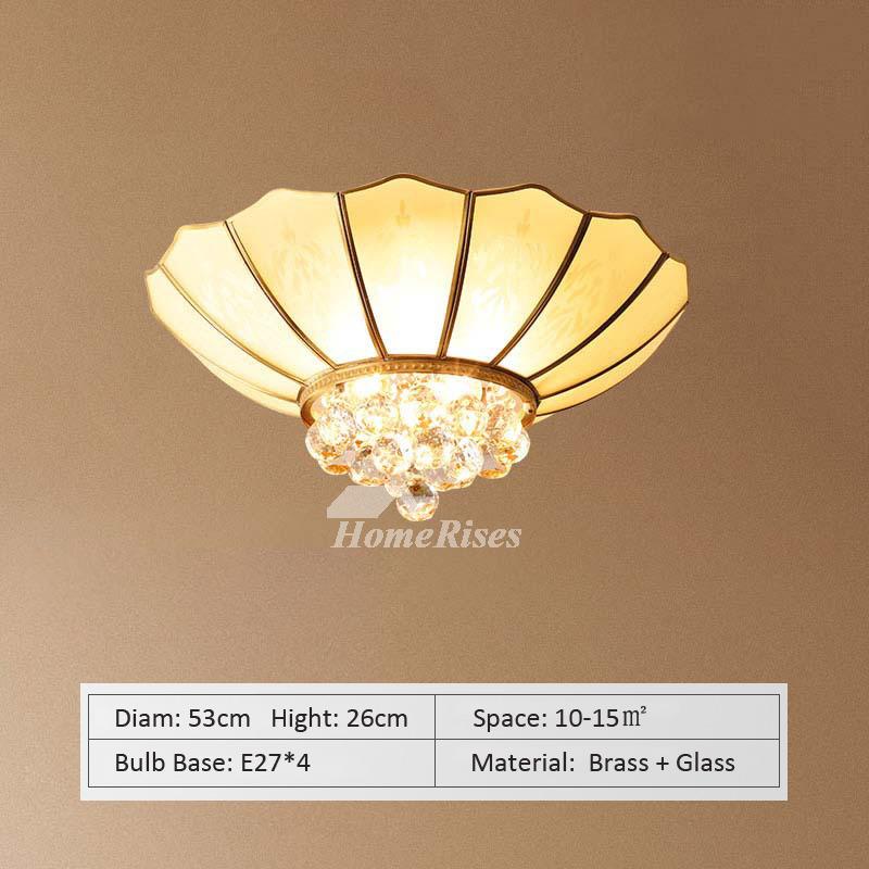 Copper Ceiling Light Living Room Lamp