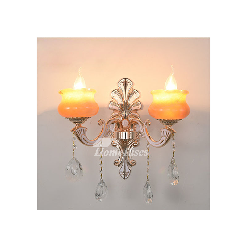 Crystal Candle Wall Sconce European