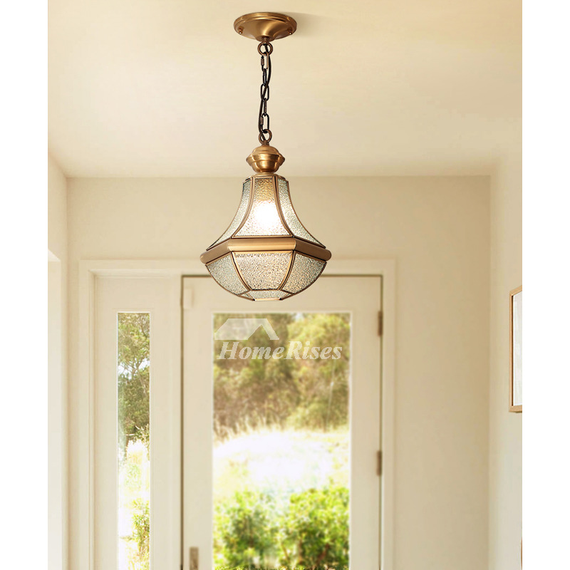Glass Flower Chandelier Solid Brass Single Light Dining Room Hallway Modern Rustic Adjustable Chain,Recipes With Raspberries And Lemon
