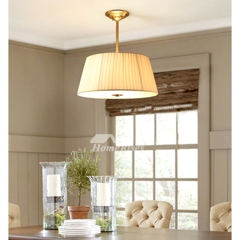 Dining Room Chandelier Ideas Study Room Modern Fabric Light Shade Solid Brass Round Ceiling Lights,What Goes Well With Light Blue Ripped Jeans