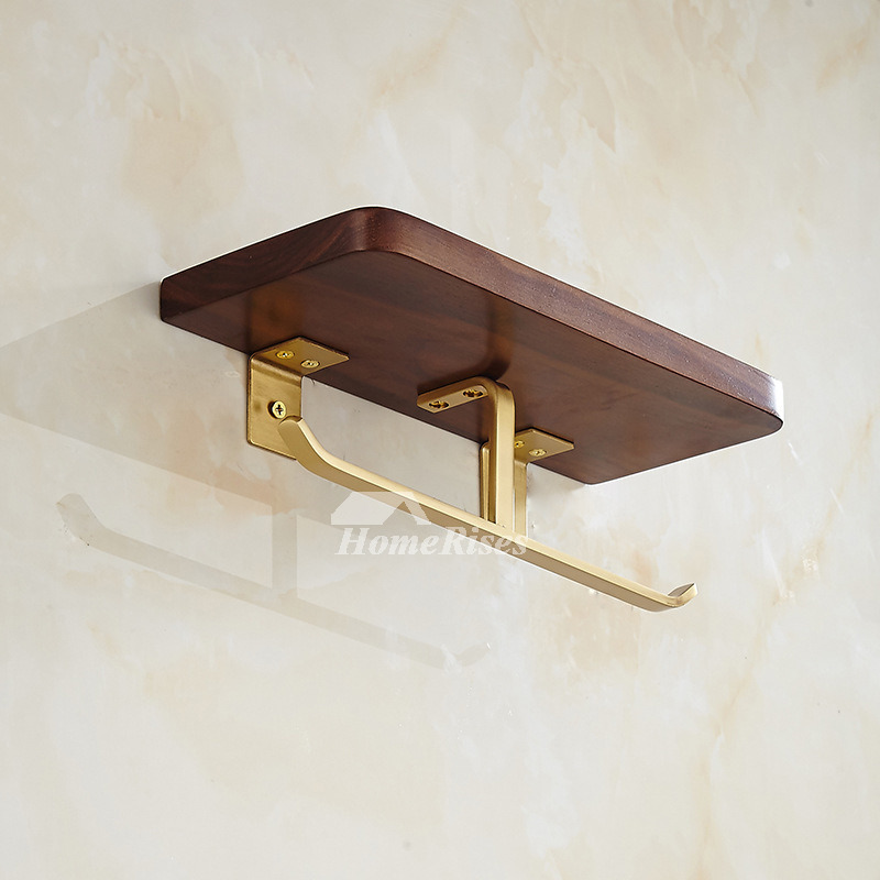 Toilet Paper Holder Shelf Function Oil Rubbed Bronze Wall Mounted Art Carved New