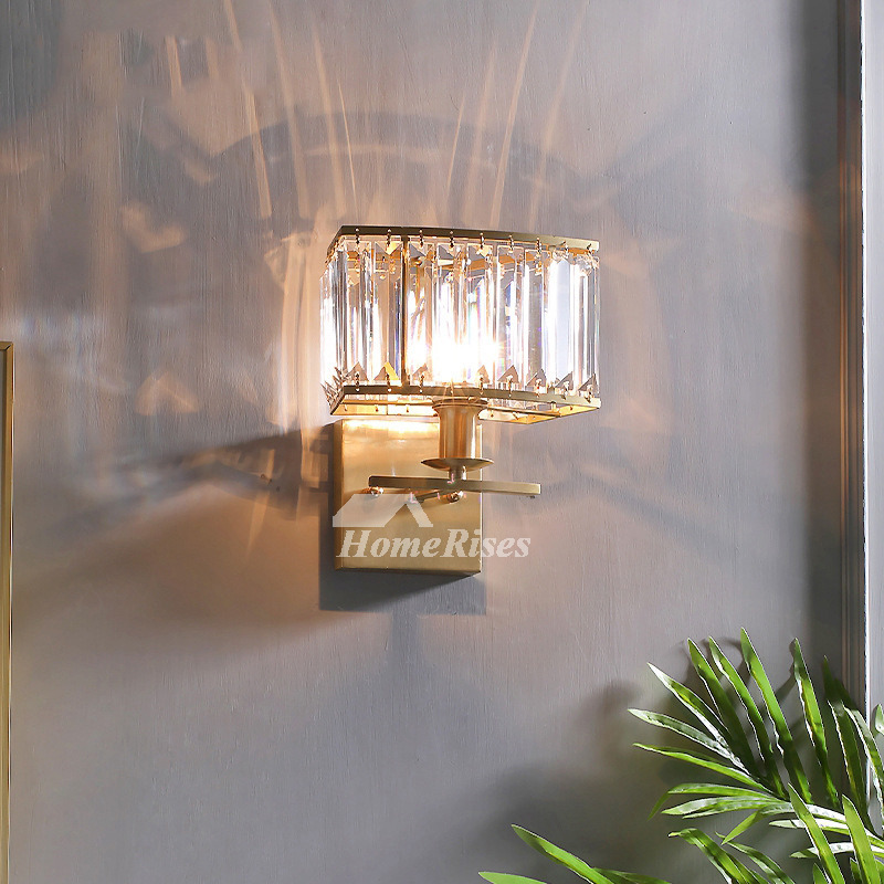 Outdoor Wall Sconce Br Crystal