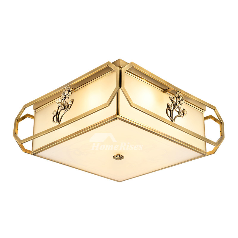 Simple New Chinese Bedroom Ceiling Lamp Personality Round