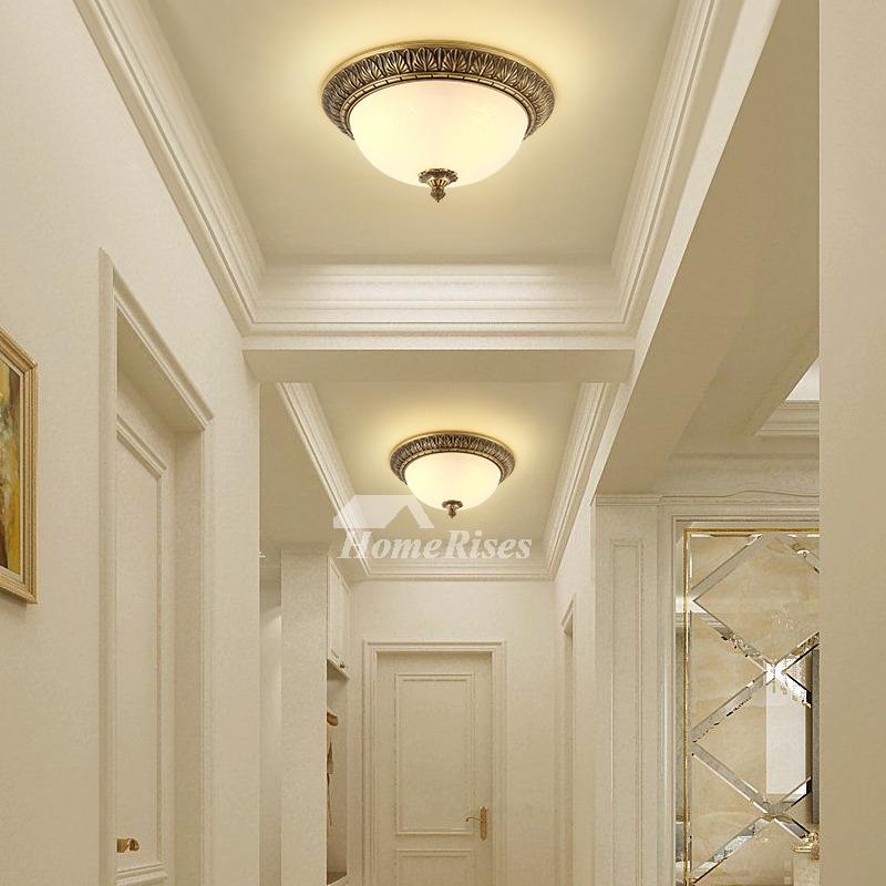 Round Br Gold Ceiling Lights Led