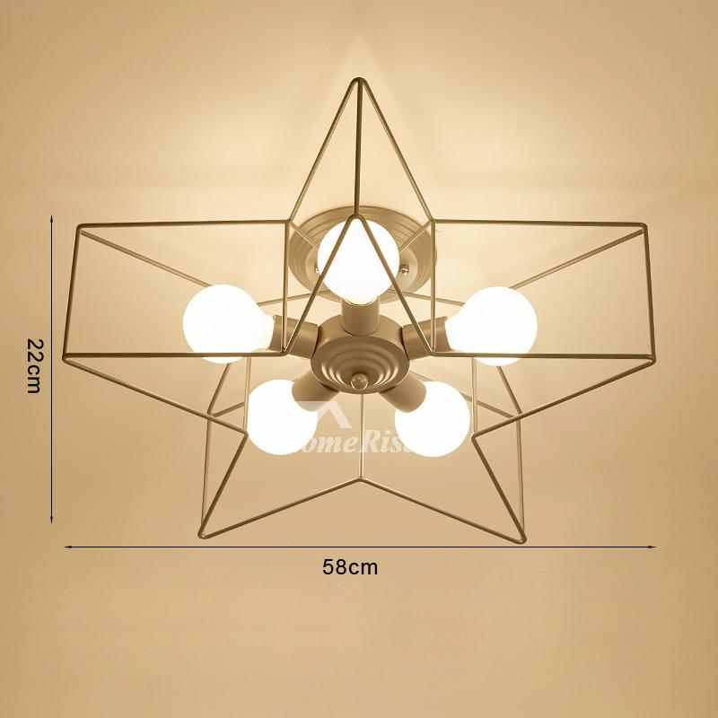 Pentagram Star Ceiling Light Fixtures