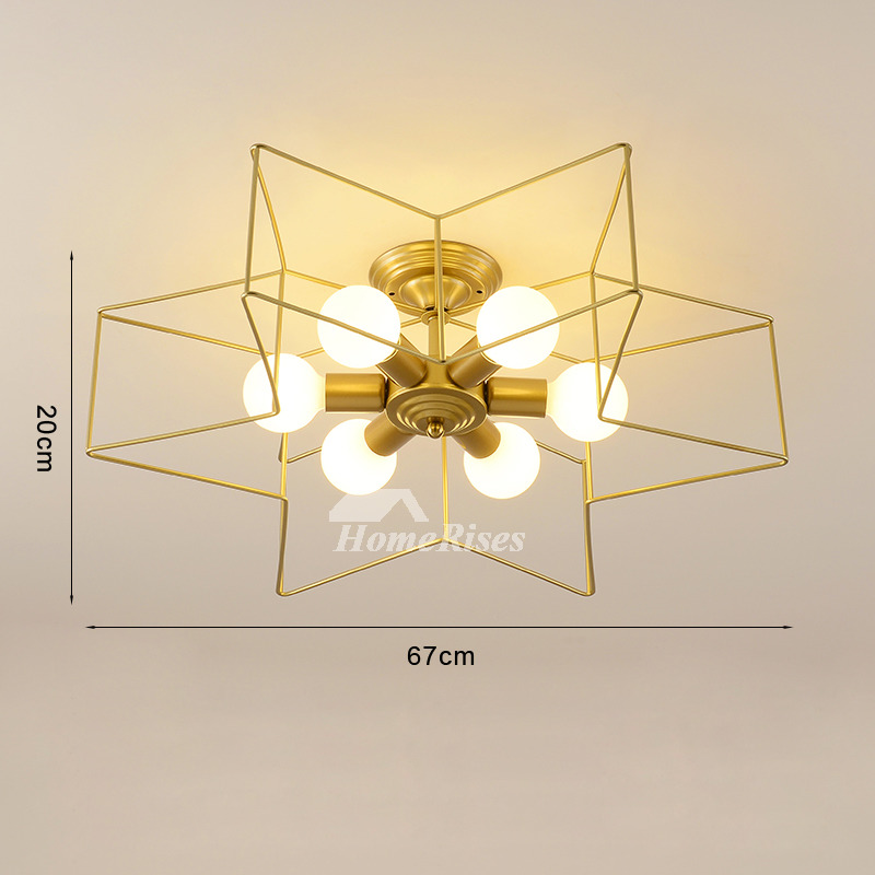 Pentagram Kids Ceiling Lighting Star