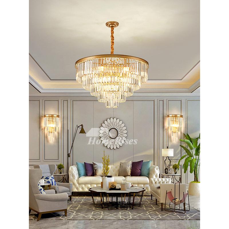 Crystal Pendant Lights Clic Luxury