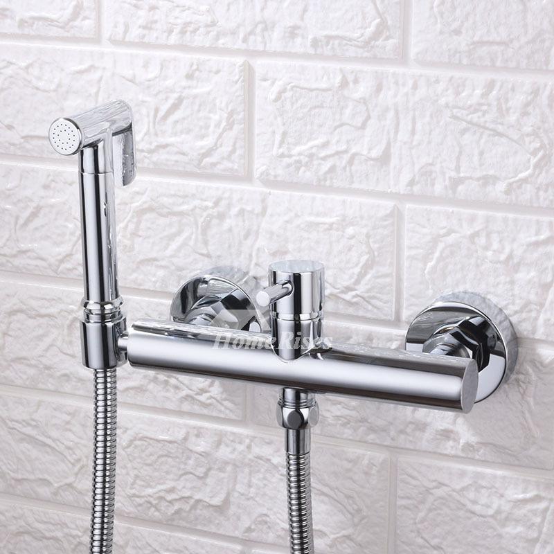 Bathroom Black Oil Rubbed Brass Telephone Style Hand Held Shower Head yhh064