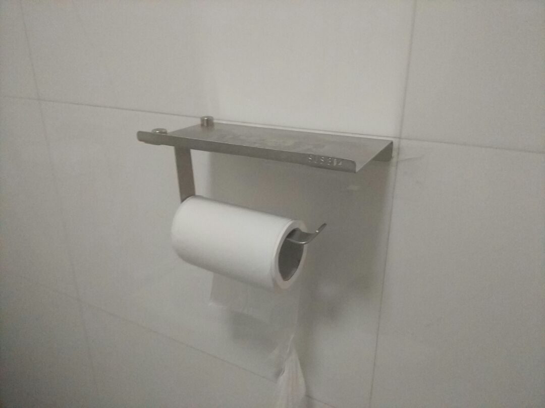 Wall Mount Toilet Paper Holder Bathroom Tissue Holder With
