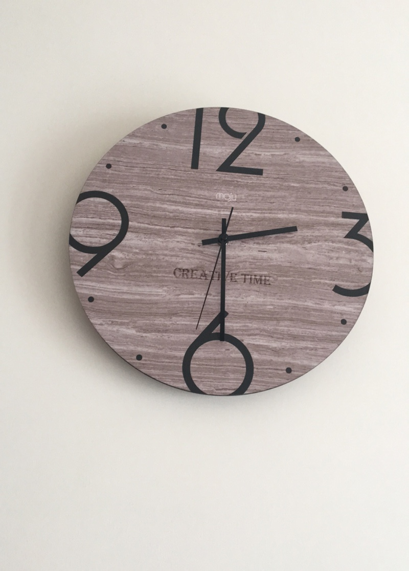 Best Wall Clocks Round Shaped Nordic Wood Simple Modern