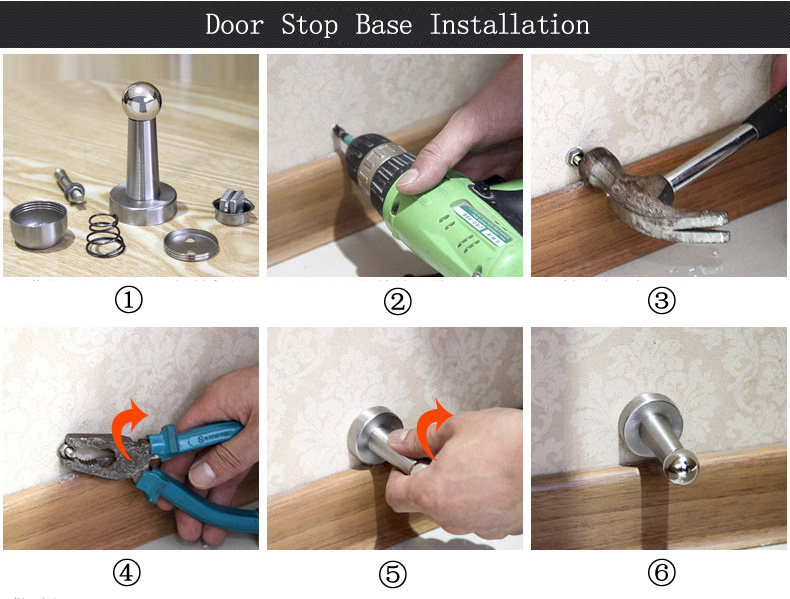 Door Stops Installation